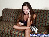 Smalltits euro gf cuckolds her lover