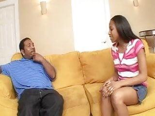 Black teen caught smoking a cigarette karcher
