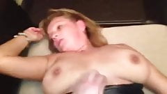 Busty blonde anal