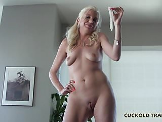 I saved a little treat for my favorite cuckold slave