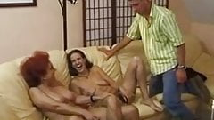 Horny Two mature Moms