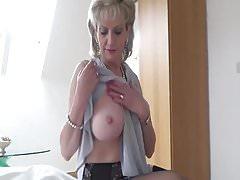 British MILF Walks Into Her Nephew's Room