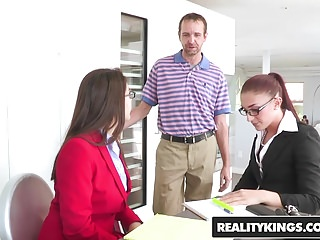 Preview 1 of RealityKings - CFNM Secret - Group Grabbing