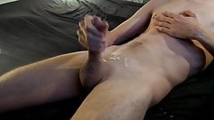 big cumshot jerking wet and hard on my young cock