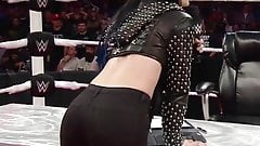 WWE - Paige has a great ass in black pants