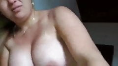 Amateur chubby babe fro Brazil fucking so hard