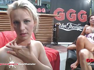German Goo Girls - Blondie Jessy And Sexy Mia Fucked hard