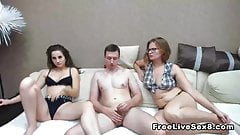Hot Euro Babes does a Hot Scis