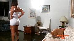Pantyhose Tease