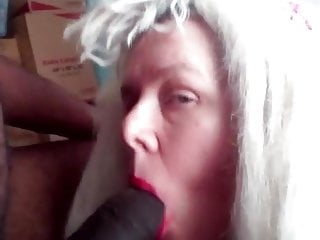 Dirty slutsucks big black cock