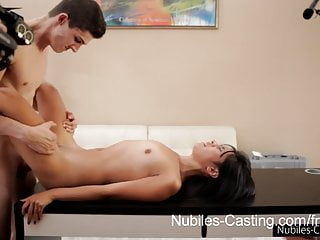Nubiles Casting Will A Pussy Full Of Jizz Get Her The Job