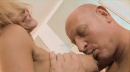 porn Blonde hairdresser