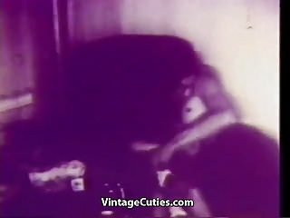 Preview 3 of Seductive Chick Fucked in Hot Positions (1940s Vintage)