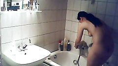 captured NOT his sister friend bath