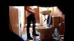 Quick Wank in Toilet