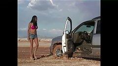Car Upskirt girl problem with car 8
