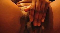 Big wet orgasmic clit