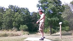 Disc Golf Exhibition Style
