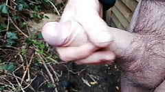 Outdoor wank..