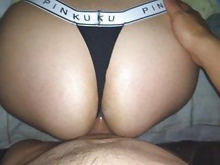 Pinku Thong Cumming On Sister S Big Ass