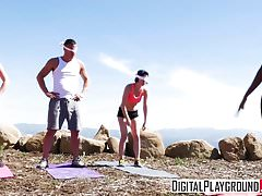 DigitalPlayground - Couples Vacation Scene 4 Olive Glass and