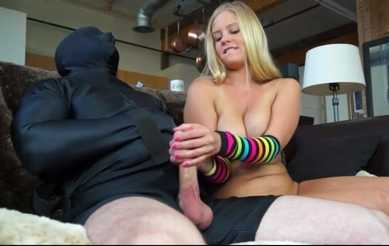 Brunette with blonde fucked