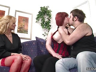 MILF zeigt echtem deutschen Ehepaar wie richtig gefickt wird