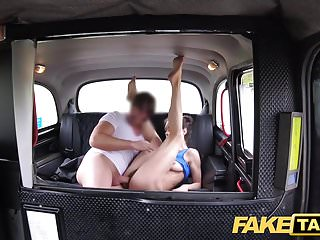 Preview 4 of Fake Taxi Russian hairy pussy natural tits