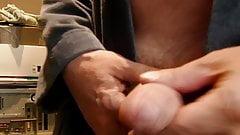 hand cumming, lots of cum