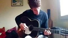 Guitar Boy Cums
