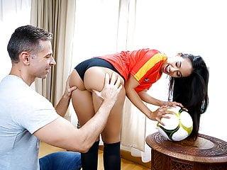 Teamskeet Horny Latina Fucking During World Cup