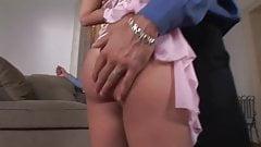 slut takes on two cocks