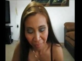Gina Jones Sucking My Cock While Husband Watches.