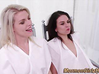 Mormon lesbian rides face