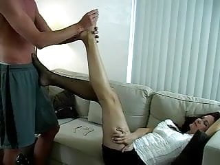 Foot Massage leads to Sex and a Foot Job