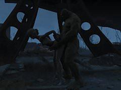 Fallout 4 Katsu sex adventure chap.5 Supermutant