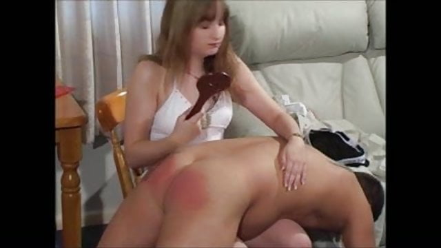 Women who enjoy spanking men