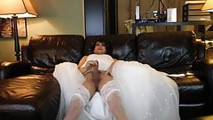 stephanie cumming in wedding dress