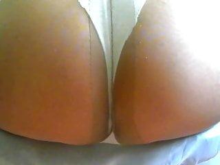 crossdresser pantyhose ass 002