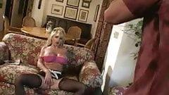 Big tits blonde banged hard