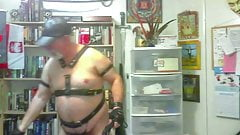 DavyBaby1 in Leather Bear Returns Pt 1