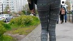 small ass in leggings