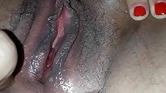 My argentinian wife masturbates to orgasm