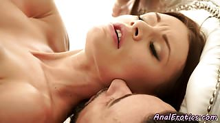 Busty eurobabe assfucked by her lover