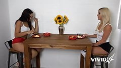Vivid.com - 2 yummy sluts just need a big cock