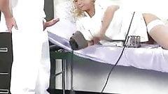 Analsex mit Krankenschwester