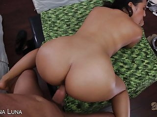 Sexy Brunette With A Big Ass Gets Fucked