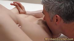 Mormon ass cum anointed