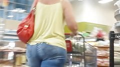 Candid gilf with a mighty ass and hips 2.