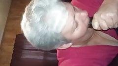 Granny BBC Blowjob